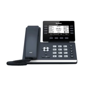 "Yealink SIP-T53W 12 Line IP HD Phone with 3.7"" 360x160 greyscale screen"
